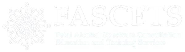 FASCETS logo white medium